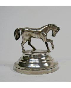 Zilveren beeldje, paard, 19e eeuw