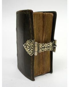 Psalmenboekje met zilveren slot door Reyer Barsingerhorn, Alkmaar 18e eeuw