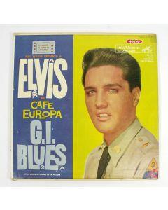LP, Elvis Presley, 'Elvis en Café Europa - G.I. Blues', Argentinië, 1959