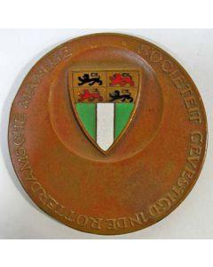 Geëmailleerde bronzen medaille, Rotterdamsche manege