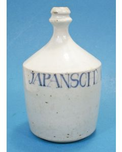 Japans porseleinen sojafles, Arita, eind 18e eeuw