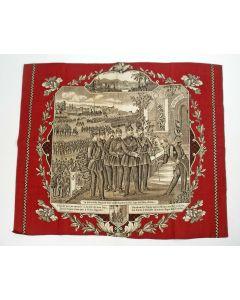 Herdenkingsdoek, Overgave van Napoleon III in de Frans-Duitse Oorlog, 1870