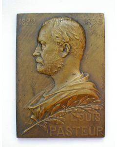 Plaquette, Louis Pasteur [1910]