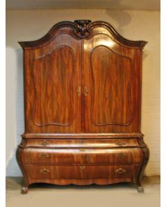 Mahoniehouten kabinet, einde 18e eeuw