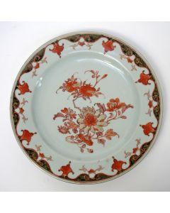 Melk en bloed bord, Yong Zheng periode, 18e eeuw