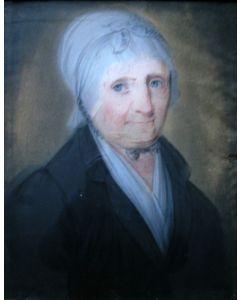Theodoor Bohres, portret van een dame, ca. 1820