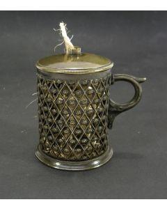 Bronzen kluwenhouder, 19e eeuw