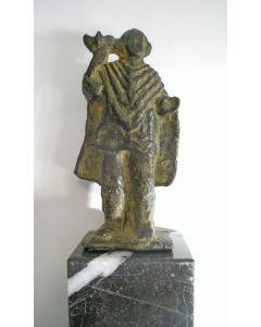 Anne Hofte, Sint Bavo, bronzen sculptuur, 1984