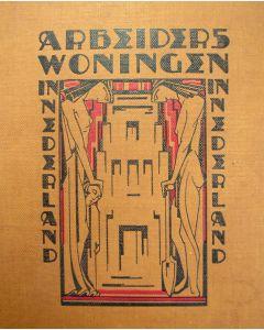 Arbeiderswoningen in Nederland, Uitgeverij Brusse, 1921 (Omslag door Hofman)