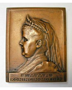 Penning, Koningin Emma 25 jaar in Nederland, 1904 [door J.C. Wienecke]