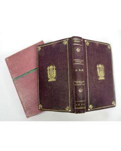 12 stichtelijke tractaatjes voor kinderen, samen gebonden in een fraai bandje en rijk geïllustreerd, 1846