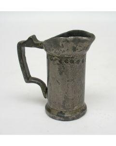 Tinnen maatje, 1 centiliter, 1902