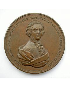 Penning op het overlijden van Willem George Frederik, Prins van Oranje, te Padua, 1799.