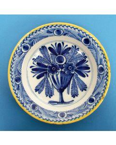 Delfts bord,  ca. 1800