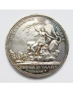 Zilveren penning, 'De overwinning bij Jutphaas', 1787
