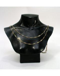 Lang gouden collier, ca. 1920