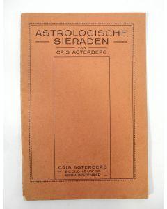 Brochure, Astrologische sieraden van Cris Agterberg, ca. 1921