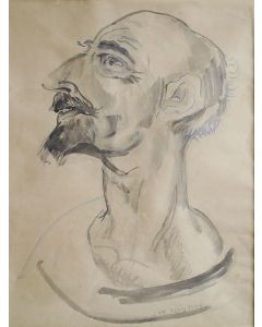 Jan Sluijters, Don Quichotte, aquarel