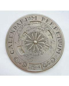 Eeuwigdurende kalender, ca. 1700/30