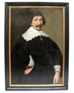 Hollandse School, portret van een voorname heer, ca. 1640