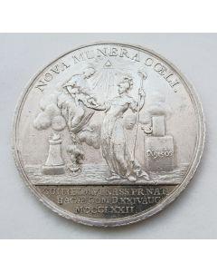 Penning ter gelegenheid van de geboorte van erfprins Willem Frederik, de latere koning Willem I, 1772
