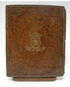 Psalmenboek met op het omslag het wapen van de stad Sloten, 1807