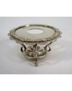 Zilveren miniatuur komfoor, ca. 1900