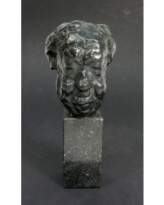 Pieter d'Hont, 'Michel Simon', bronzen sculptuur, 1963