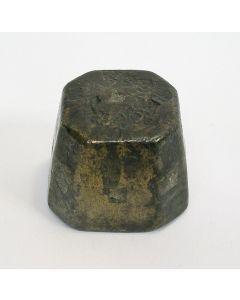 Bronzen blokgewicht, ca. 1700