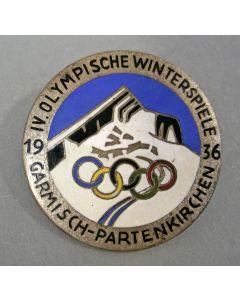 Draaginsigne Olympische Winterspelen 1936, Garmisch-Partenkirchen