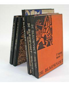 De Blauwvoet. Maandblad voor de Katholieke Dietsche Studenten (jaargangen 1934-1937) en het Dietsch Jeugdverbond (jaargangen 1937-1939)