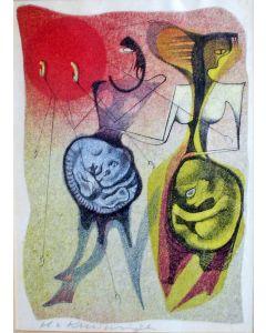 Harry van Kruiningen, kleurenets 1957