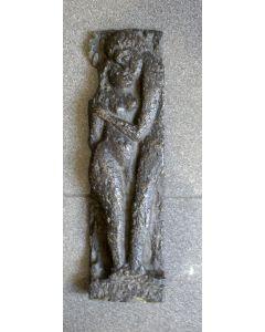 Anne Hofte, Liefdespaar, bronzen reliëf