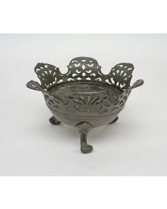 Tinnen pijpkomfoor, ca. 1800