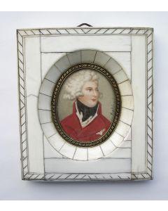 Portretminiatuur, Koning George IV