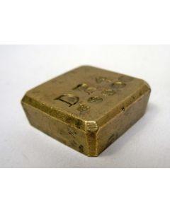 Medicinaal gewicht, 4 drachmen.1845