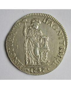 Overijssel, 1 gulden 1737