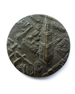 Penning, 600 jaar Domtoren Utrecht, 1982 [Theo van de Vathorst]