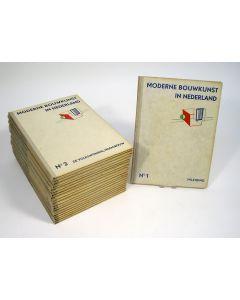 Moderne Bouwkunst in Nederland, 20 delen, 1932