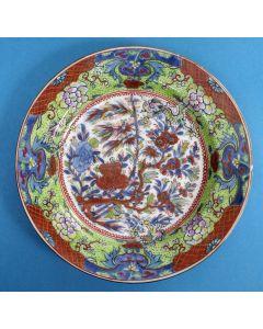 Chinees porseleinen bord, 18e eeuw