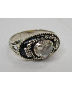 Ring met diamanten, 18e/19e eeuw
