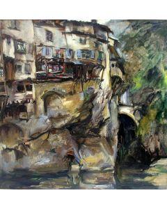 Bob ten Hoope, 'Pont-en-Royan', 1966