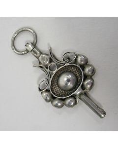 Zilveren horlogesleutel, 19e eeuw