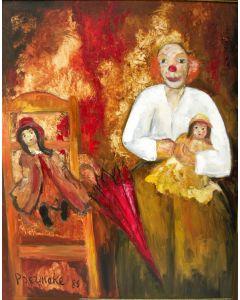 Paul Permeke, 'Clown', 1989