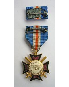 Jan Sluijters, liggend naakt, krijttekening