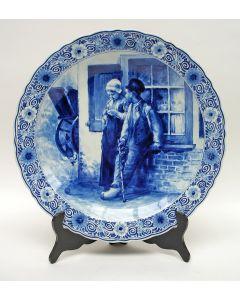 Delftse wandschotel met voorstelling naar Blommers, De Porceleyne Fles