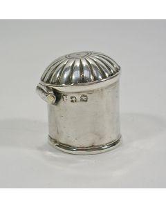 Zilveren vinaigrette/lodereindoosje, Vlissingen, 18e eeuw