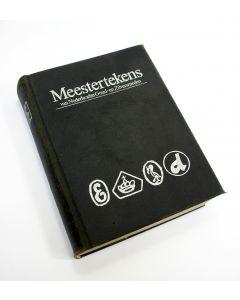 Boek, Meestertekens van Nederlandse Goud- en Zilversmeden 1814-1963 (1980)