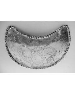 Zilveren borstschild van een Limburgs schuttersgilde, 1786