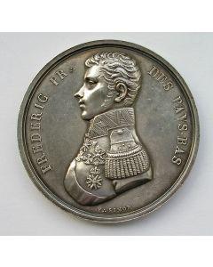 Penning, instelling van de Grote Loge van Administratie der Zuidelijke Provinciën van de Vrijmetselarij, te Brussel 1818